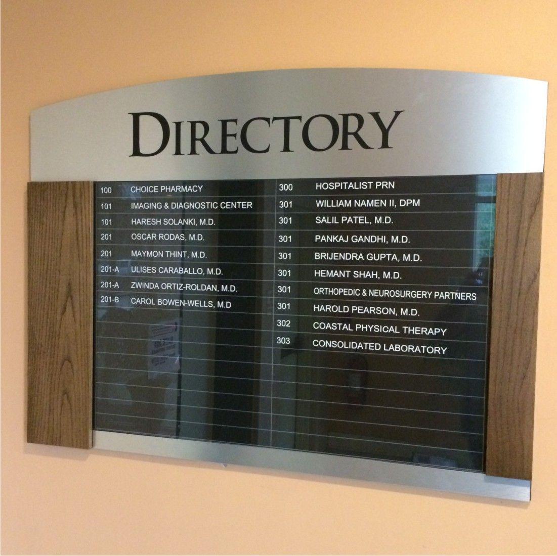 Directory Signs Portfolio